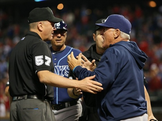 joe-maddon-texas-rangers-blown-ninth-inning-call-570x426