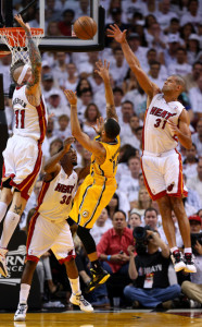"""Chris Andersen, Norris Cole and Shane Battier will never be confused with the other """"big three"""" in Miami."""