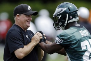 The Philadelphia Eagles are counting on new coach Chip Kelly to help turn them around in 2013.