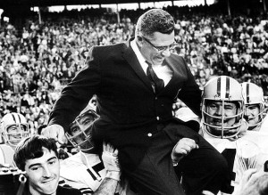 Though he was only a head coach for a decade, many consider Vince Lombardi the greatest coach in NFL history.