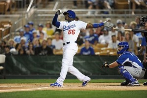 Yasiel Puig has posted numbers in one month that are comparable to what some All-Stars have done all season.