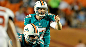 In his second season, Ryan Tannehill will look to lead the Dolphins back to the playoffs.