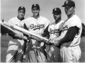 Campanella was a key member of the 1955 World Champion Brooklyn Dodgers