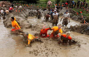 Events like the Tough Mudder help fitness buffs get back to the basics.