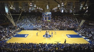 Cameron Indoor Stadium is one of the most famous basketball venues in the world.