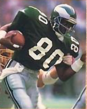 Though best remembered for his years as a Viking, Carter started his career with three seasons as a member of the Philadelphia Eagles.