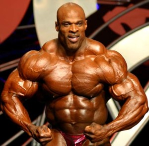 Ronnie Coleman was Mr. Olympia eight times during his career.