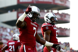 Jadeveon Clowney and South Carolina will have a tough early test against the Georgia Bulldogs.
