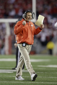 It will be a bit tougher for Urban Meyer and Ohio State to post another undefeated campaign in 2013.