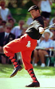 Payne Stewart had his own flare for fashion.