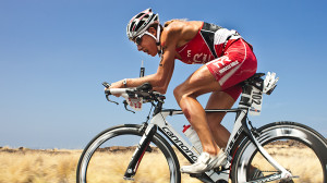 Chrissie Wellington has developed into a record-setting triathlete.