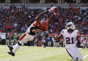 A.J. Green is quickly developing into one of the best receivers in the NFL.