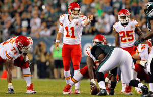 Alex Smith in Kansas City is working out all right so far as KC is 3-0.