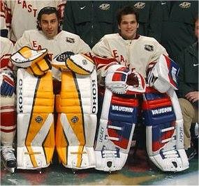 Sports Then and Now | Goalie Pads Then and Now: A Look at the New