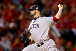 Jon Lester's second masterful performance of the World Series has the Boston Red Sox needing just one win for their third title since 2004.