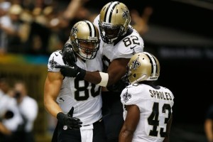 The Saints' offense, led by Jimmy Graham and Darren Sproles, has them off to a 4-0 start.
