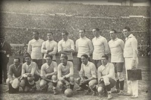 The first World Cup was hosted by Uruguay, who also managed to win the 13 team tournament.