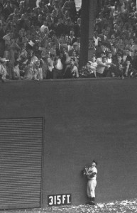 Andy Pafko watched helplessly as Bobby Thomson's home run sailed over the fence to lift the New York Giants to the 1951 NL Pennant.