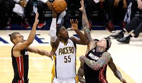 Roy Hibbert has been a tough player for the Heat to neutralize.