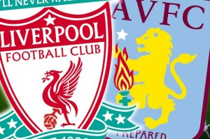 Liverpool and Aston Villa played to a 2-2 tie.
