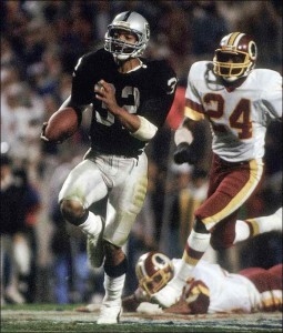 Nobody could catch Marcus Allen in Super Bowl XVIII.