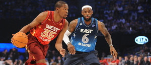 Kevin Durant and LeBron James should be the leading stars in the 2014 NBA All-Star Game.