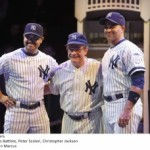"Actor Peter Scolari Turns In His Red Sox For Yankees' Pinstripes In ""Bronx Bombers"" On Broadway"