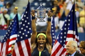 Serena Williams will be looking for her third straight U.S. Open title.