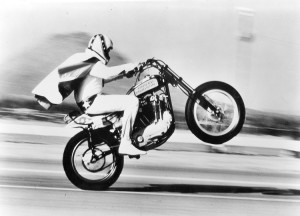 Evel Knievel was one of the most famous sports personalities of the 1970s.