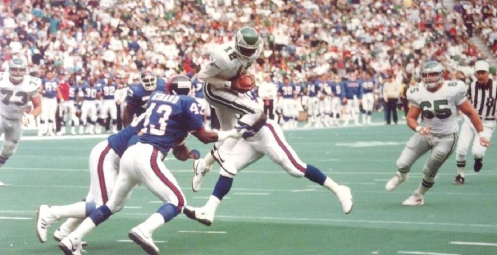 Randall Cunningham showed that quarterbacks could be weapons both throwing and running with the football.