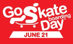 June 21st is Go Skateboarding Day.
