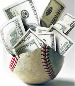Salaries in baseball, as in all sports, has exploded over the last 30 years.