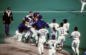 The 1985 World Series title for the Royals marked the culmination of a decade in which they made the playoffs seven times.