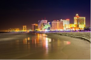 Atlantic City offers legal gambling opportunities.