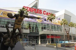 Th Staples Center is home to two valuable basketball franchises.