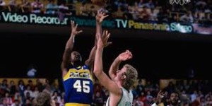 Larry Bird had a special Christmas present waiting for Chuck Person.