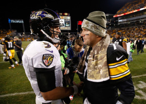 It will be interesting to see who is smiling after the Ravens and Steelers meet in the opening round of the playoffs.