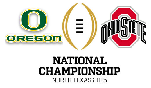 Oregon and Ohio State will battle in the first championship game in the new playoff format.