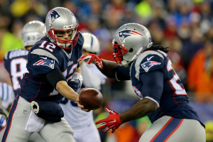The Patriots have a chance if LaGarrette Blount and the running game take the pressure off Tom Brady.