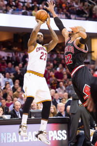 LeBron James and the Cleveland Cavaliers seem to be getting hot at the right time.