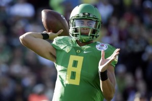 Heisman Trophy winner Marcus Mariota highlights a field that will be full of weapons.
