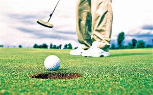 Golf is one sport where practice is essential.