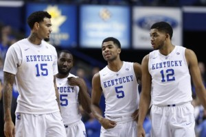 There is no doubt that Kentucky will be at the top of the bracket when the NCAA Tournament bids are announced on March 15tth.