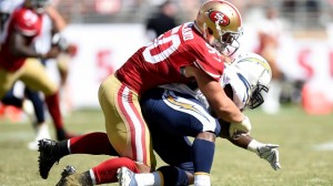 Chris Borland decided after just one NFL season that the financial gains of playing in the NFL weren't worth the physical risks.
