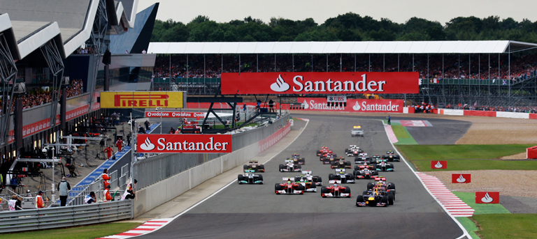 The British Grand Prix is always one of the sporting highlights of the year in the UK.