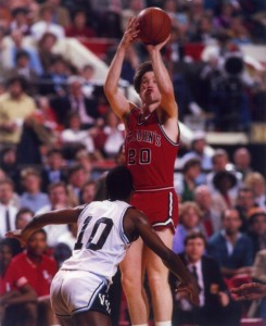 Chris Mullin brought St Johns notoriety in the 1980's with his deadly jump shot.