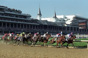 Churchill Downs is the most famous horse track in America.