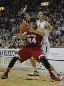 Wisconsin center Frank Kaminsky was named the Associated Press Player-of-the-Year.