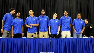 A total of seven Kentucky players declared to enter the NBA Draft earlier this week.
