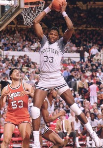 Patrick Ewing was a dominating force for the Hoyas from 1981 to 1985 and helped Georgetown reach three NCAA Championship Games.